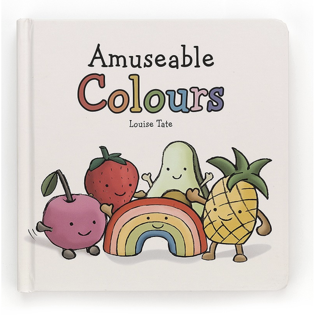 Jellycat Amuseable Colors Book - Baby Laurel & Co.