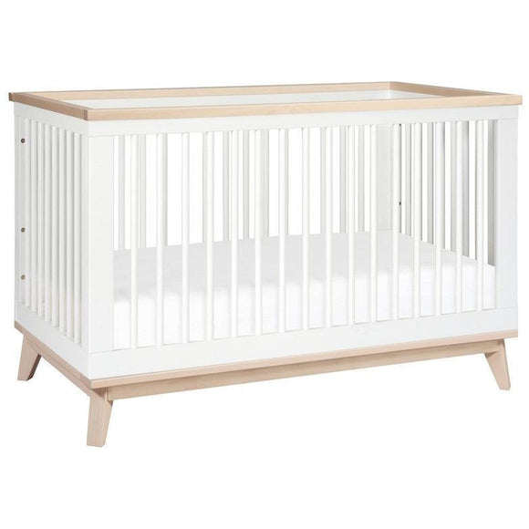 BabyLetto Scoot 3-in-1 Crib W/ Toddler Rail - Baby Laurel & Co.