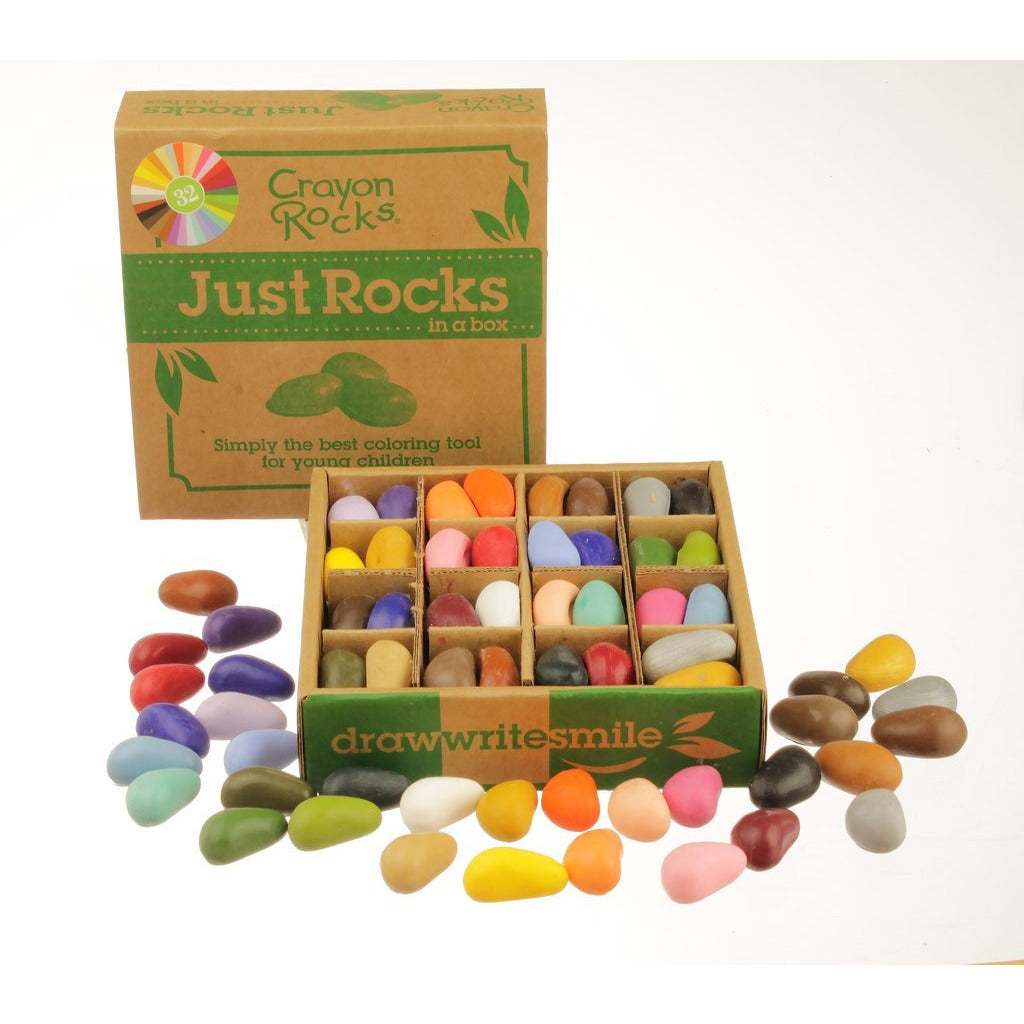 Crayon Rocks - Rocks in a Box 32 Colors