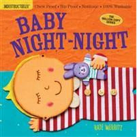 Baby Night Night - Indestructible Book - Baby Laurel & Co.