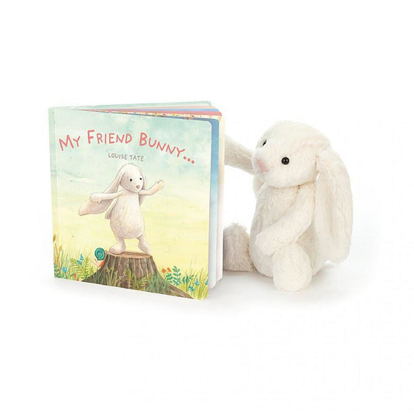 JellyCat My Friend Bunny Book - Baby Laurel & Co.