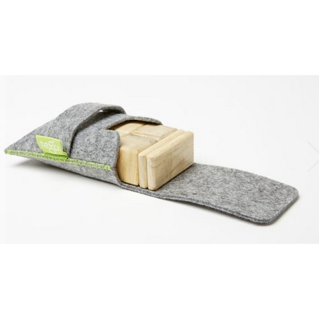 Tegu Magnetic Block - Pocket Pouch (Natural)