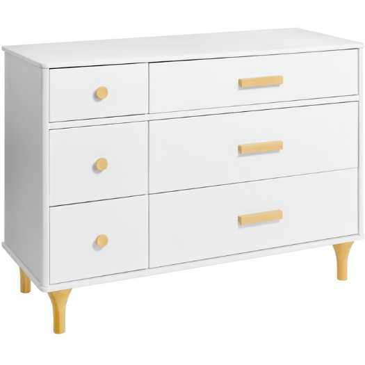 BabyLetto Lolly 6 Drawer Double Dresser - Baby Laurel & Co.