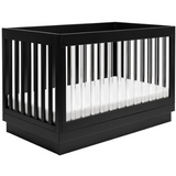 BabyLetto Harlow 3-in-1 Crib W/ Toddler Rail