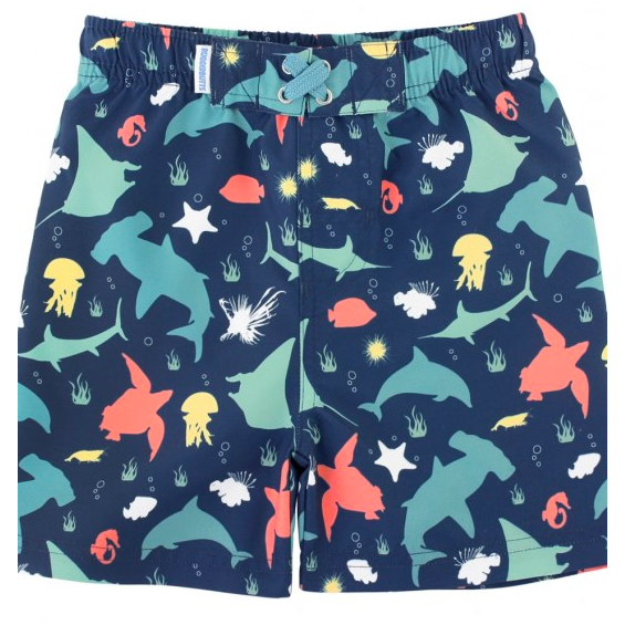 Rugged Butts Under The Sea Swim Trunks - Baby Laurel & Co.
