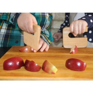 Justenbois Safe Wooden Children's Knife ''Chop Chop''