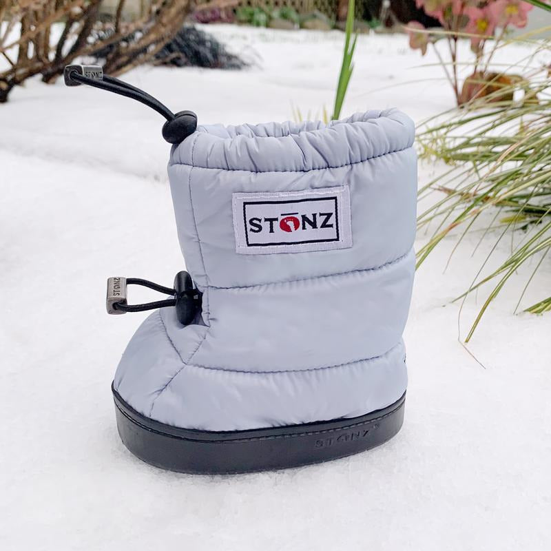 Stonz Toddler Puffer Booties - Haze Blue