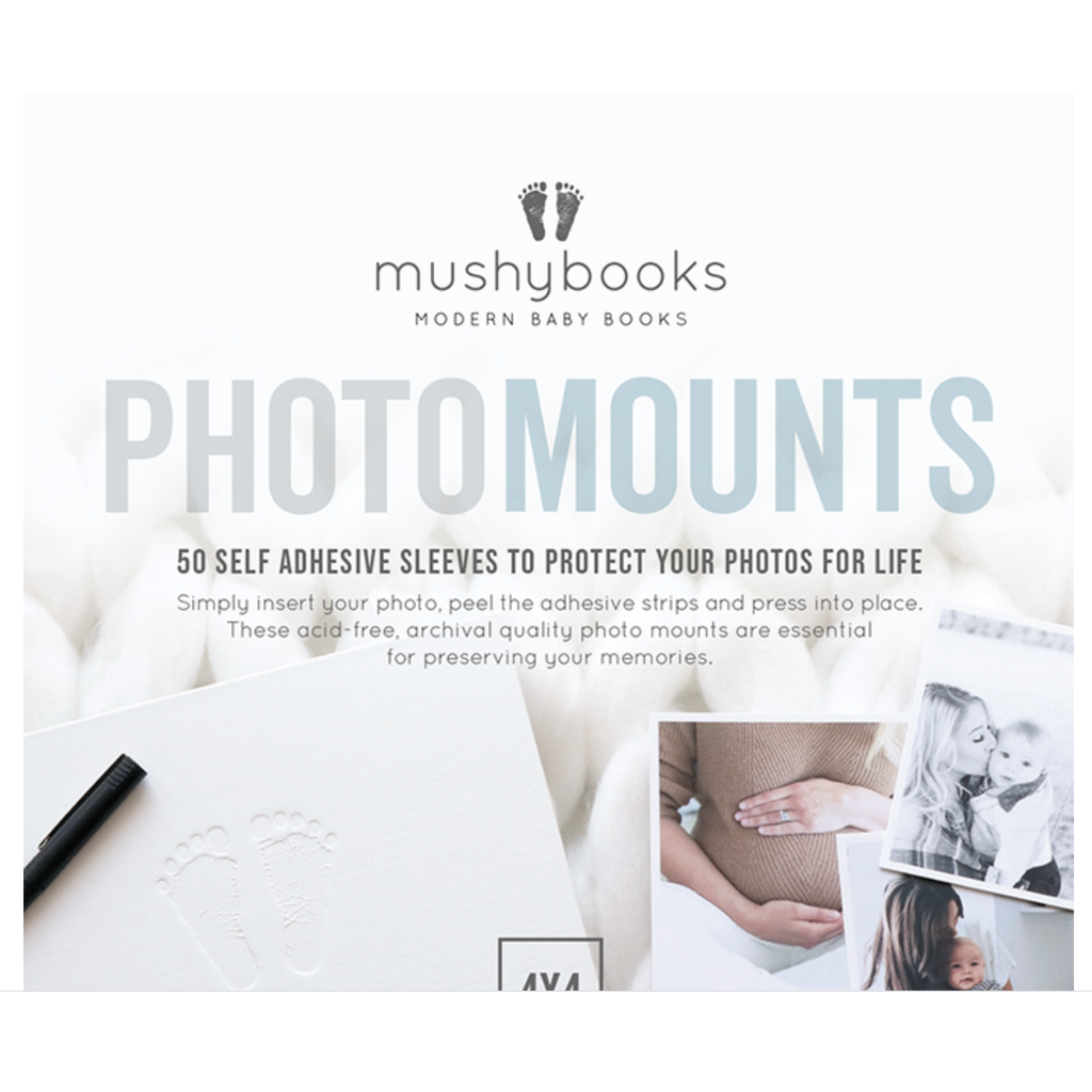 Mushybooks Photo Mounts - Baby Laurel & Co.
