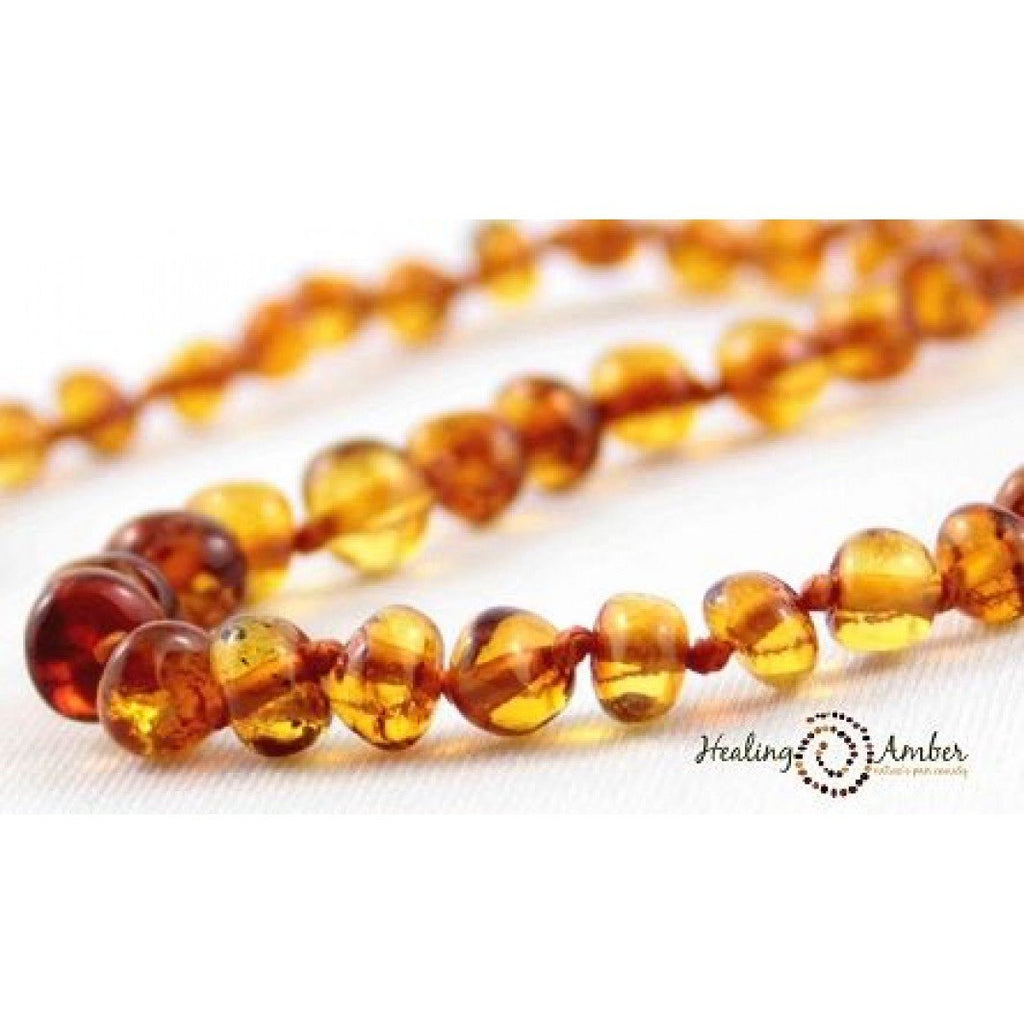 Healing Amber Necklace 13 inches - Baby Laurel & Co.