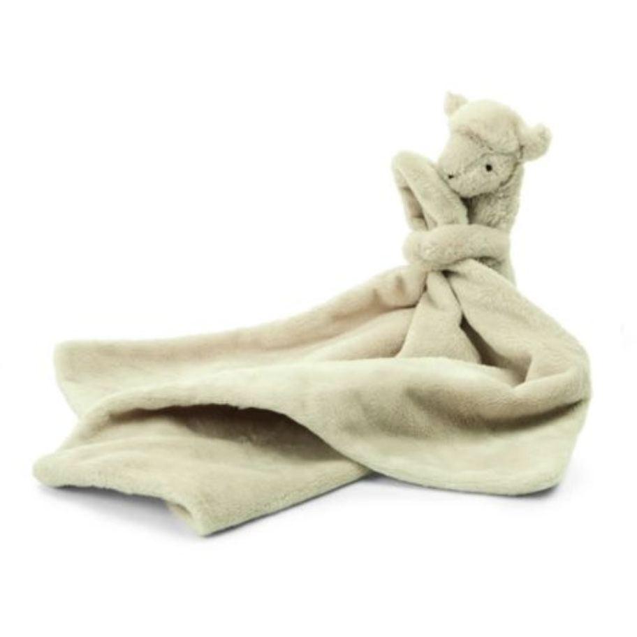 Jellycat Bashful Llama Soother - Baby Laurel & Co.