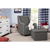 Davinci Owen Glider & Ottoman - Baby Laurel & Co.