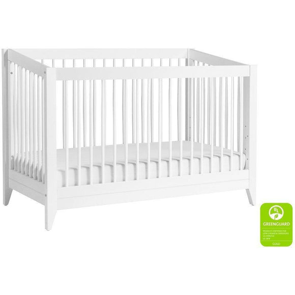 BabyLetto Sprout 4-in-1 Crib W/ Toddler Rail - Baby Laurel & Co.