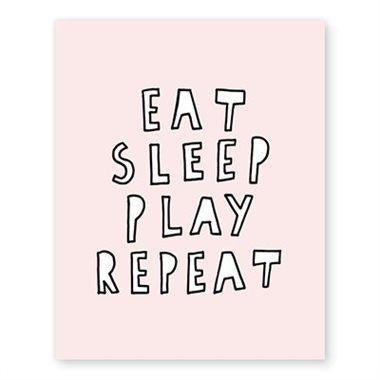 Melo & Co Eat Sleep Play Repeat - Baby Laurel & Co.