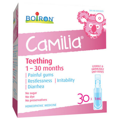 Boiron Camilia 30 x 1 ml Teething Pain Relief