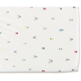 Pehr Crib Sheet  -  Love Bug