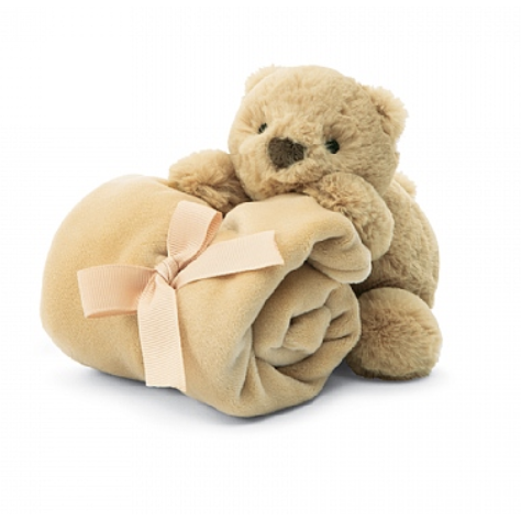Jellycat Shooshu Bear Soother - Baby Laurel & Co.