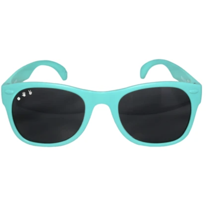 Ro Sham Bo Baby Sunglasses - Goonies Teal - Baby Laurel & Co.