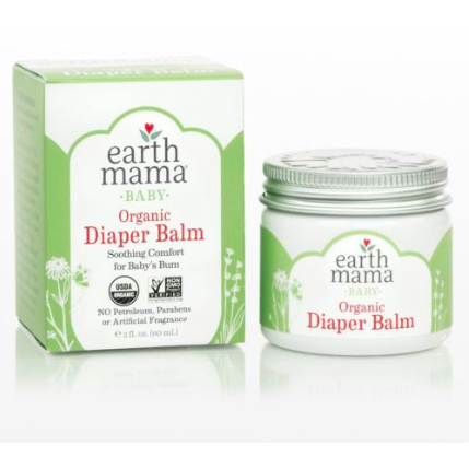 Earth Mama Organic Diaper Balm  2 oz