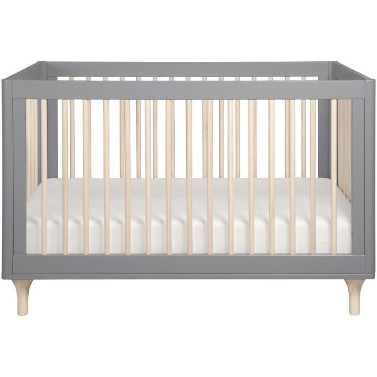 BabyLetto Lolly 3-in-1 Crib W/ Toddler Rail - Baby Laurel & Co.
