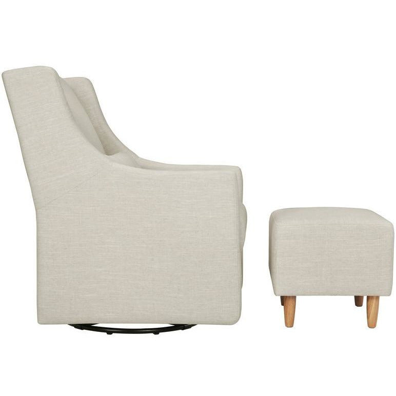 BabyLetto Toco Swivel Glider w/ Ottoman - Baby Laurel & Co.