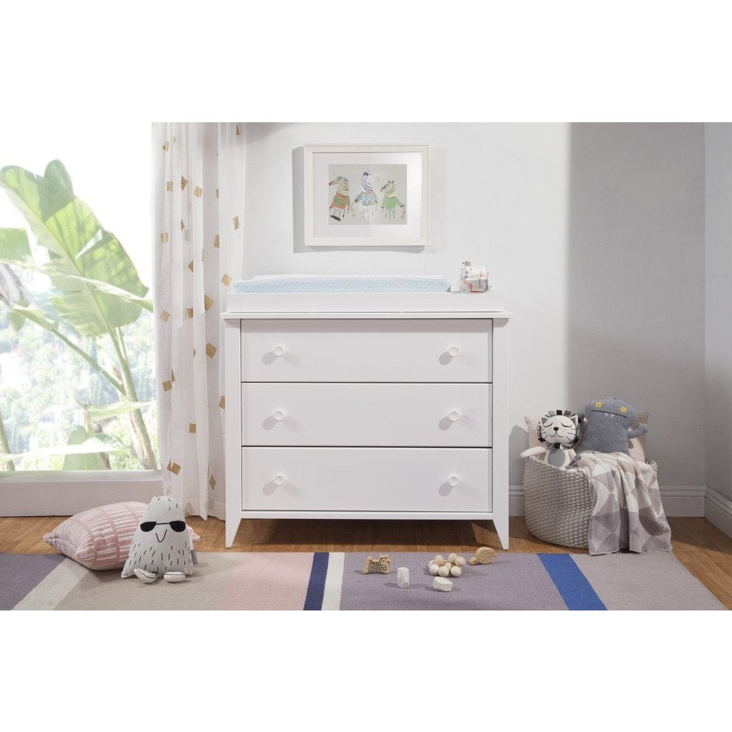 BabyLetto Sprout 3 Drawer Changer Dresser - Baby Laurel & Co.