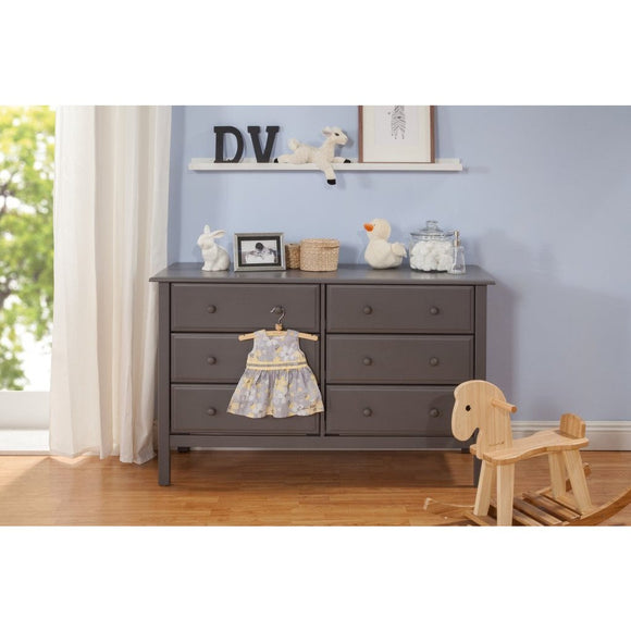 Davinci Jayden 6 Drawer Double Dresser - Baby Laurel & Co.