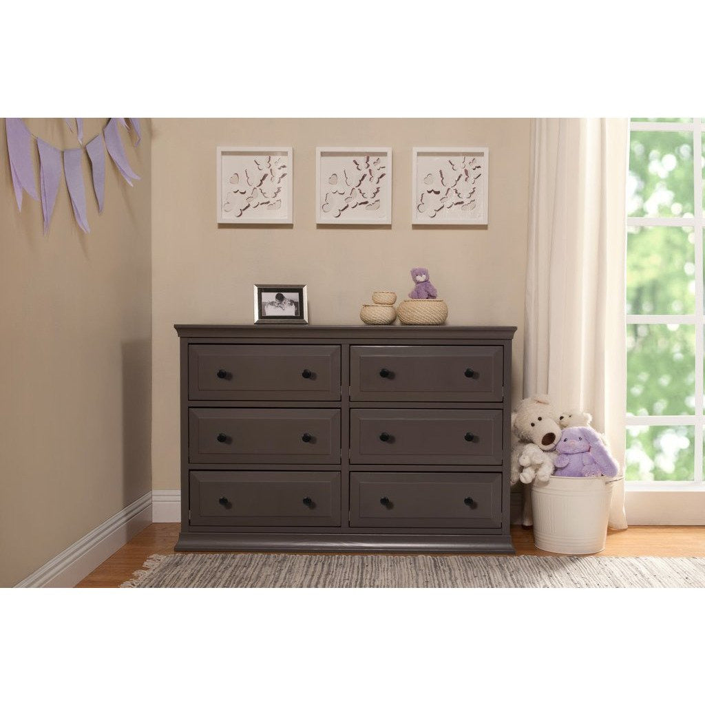 Davinci Signature 6 Drawer Double Dresser - Baby Laurel & Co.