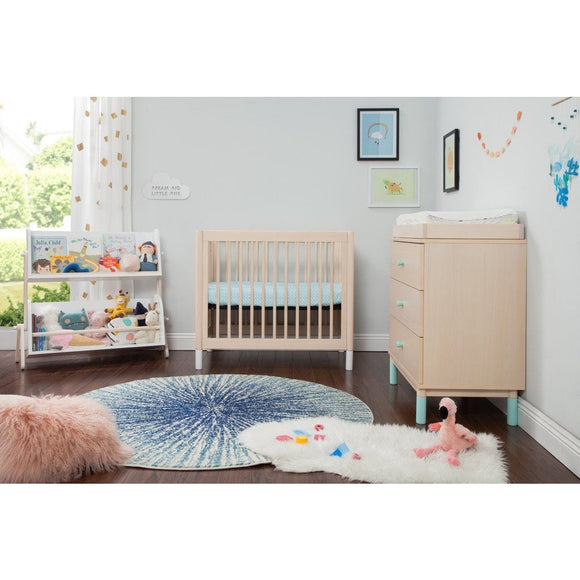 BabyLetto Gelato 2-in-1 Mini Crib/Twin Bed - Baby Laurel & Co.