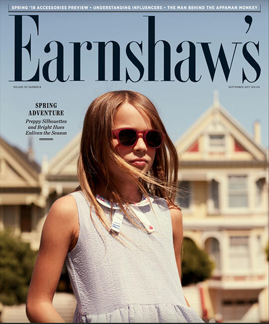 Earnshaw's September Issue Inevitabile SS18