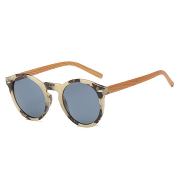 Tortoise Retro Round Fashion Sunglasses