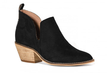 Black Corkys Footwear Stassi Heeled Booties