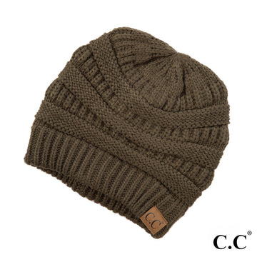 The Original CC Beanie in New Olive