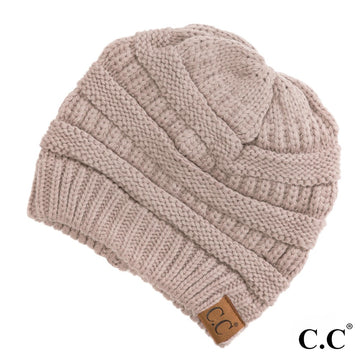 The Original CC Beanie in Beige