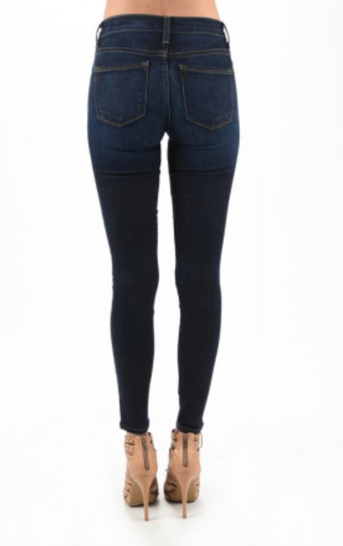 Judy Blue Jeans Stretchy Classic Dark Wash Skinny