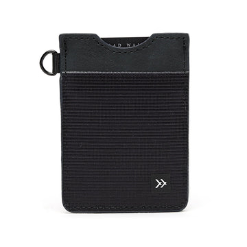 Thread Wallets® Black Vertical Wallet