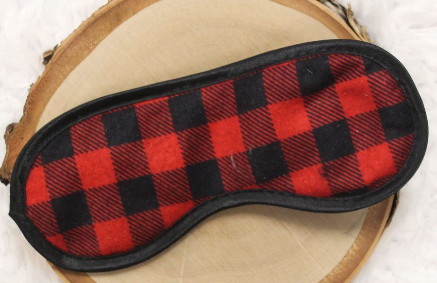 Buffalo Plaid Blindfold