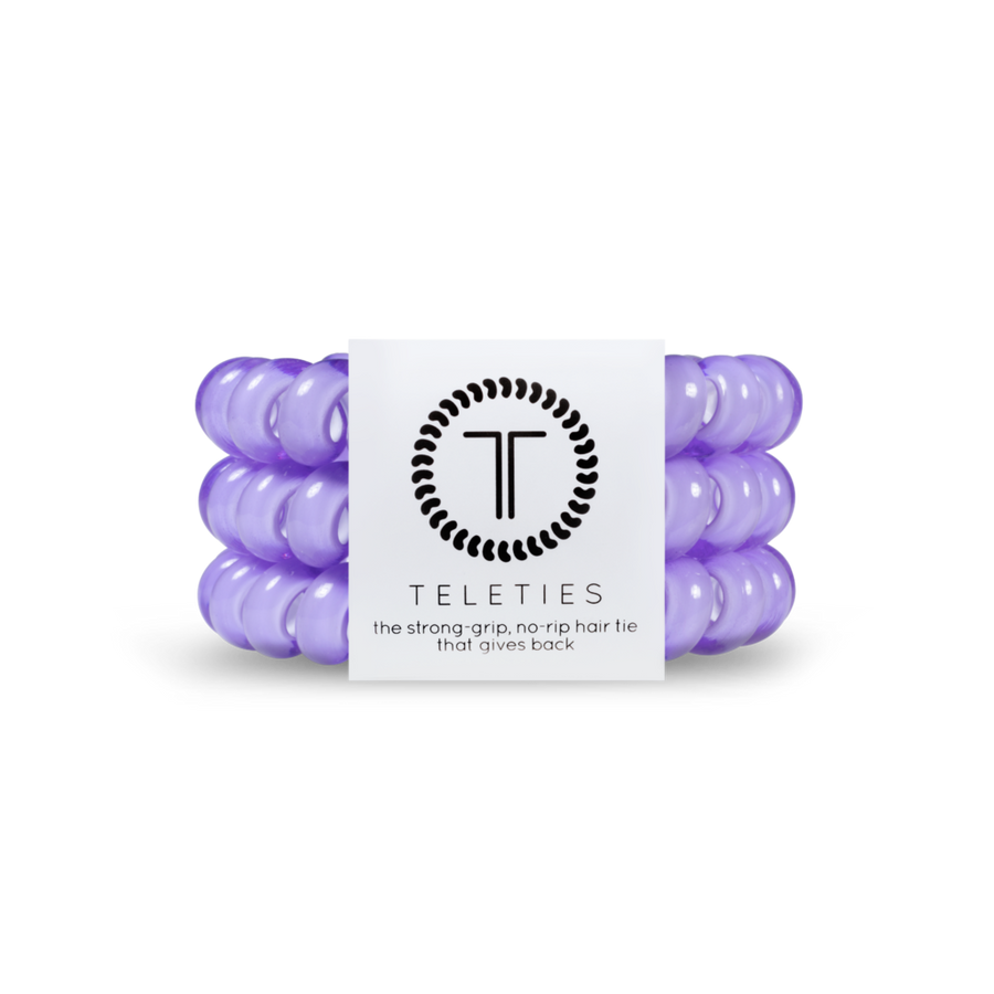 Teleties Set of 3 Large in Lilac