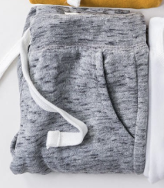 Gray Soft Spun Joggers