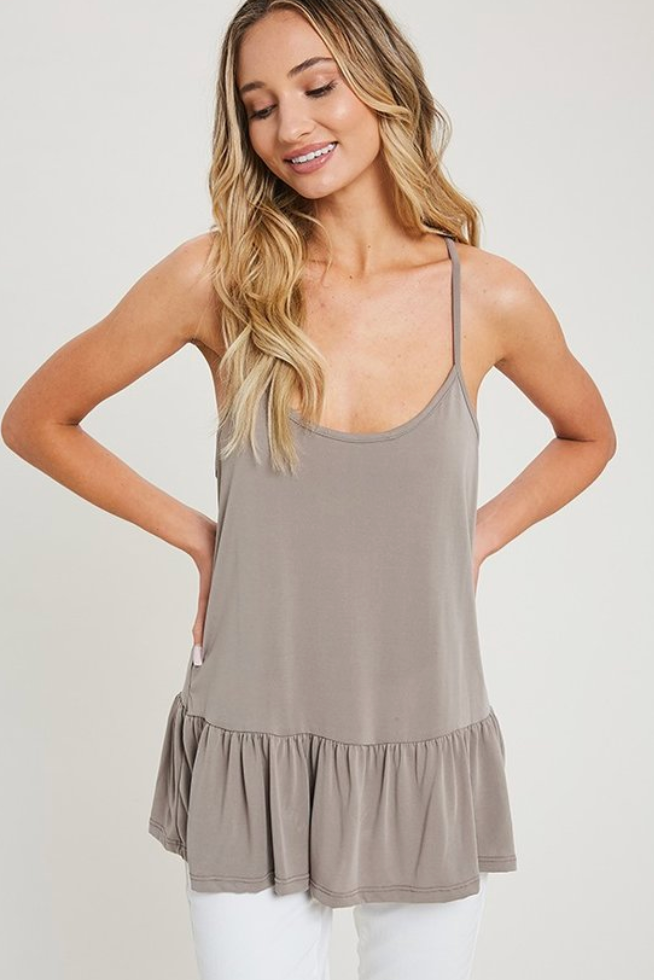 Coco Solid Racer Back Camisole