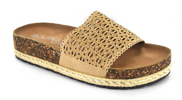 Natural Corkys Footwear Elm Jeweled Slide