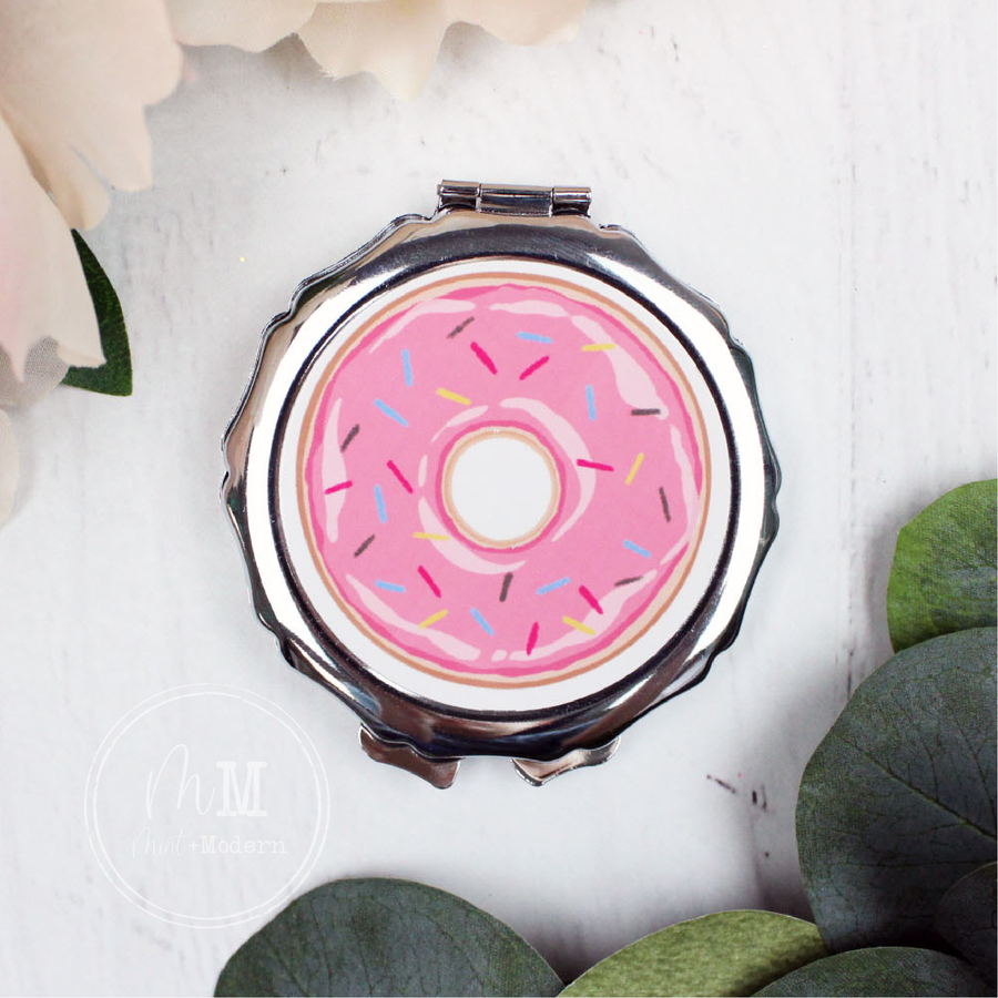 Donut Compact Mirror