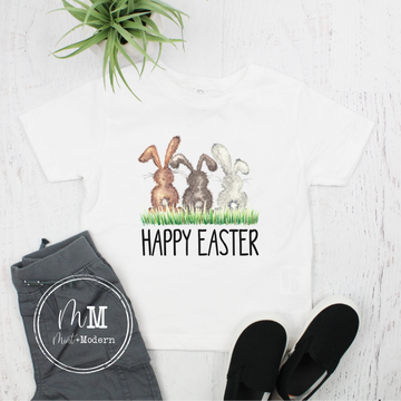Happy Easter Bunny Toddler Shirt