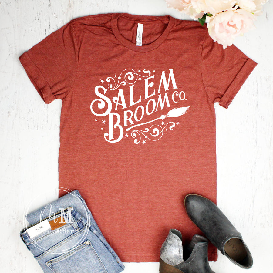 Salem Broom Company Shirt - Fall Tee - Fall Shirt