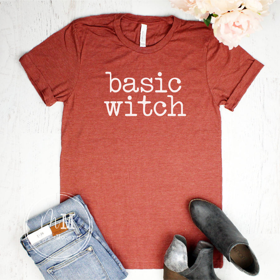 Basic Witch Shirt - Fall Tee - Fall Shirt
