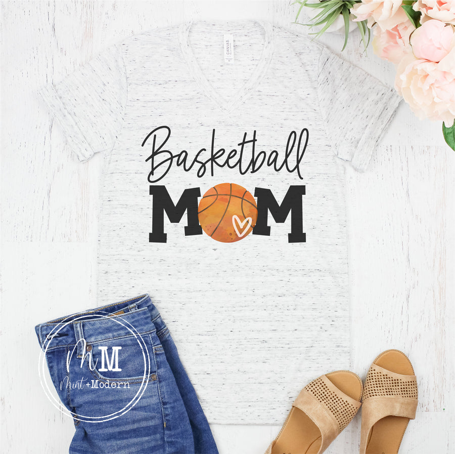 Basketball Mom Shirt - Full Color Shirt