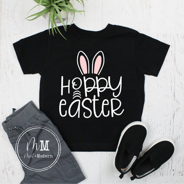 Hoppy Easter Bunny Toddler Shirt
