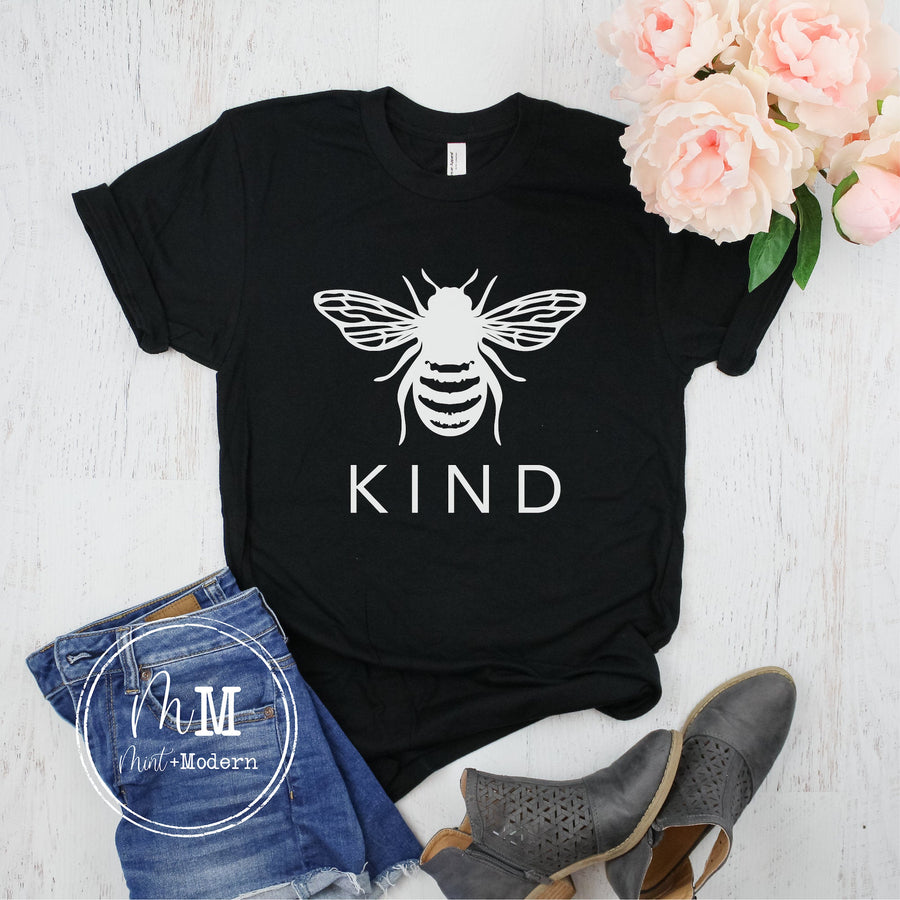 Bee Kind Tee Shirt - Unisex Soft Shirt