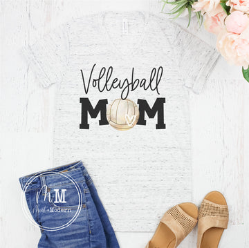 Volleyball Mom Shirt - Full Color Shirt