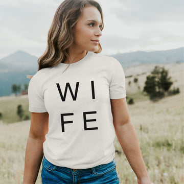Simple Wife Shirt - Engagement Announcement Shirt
