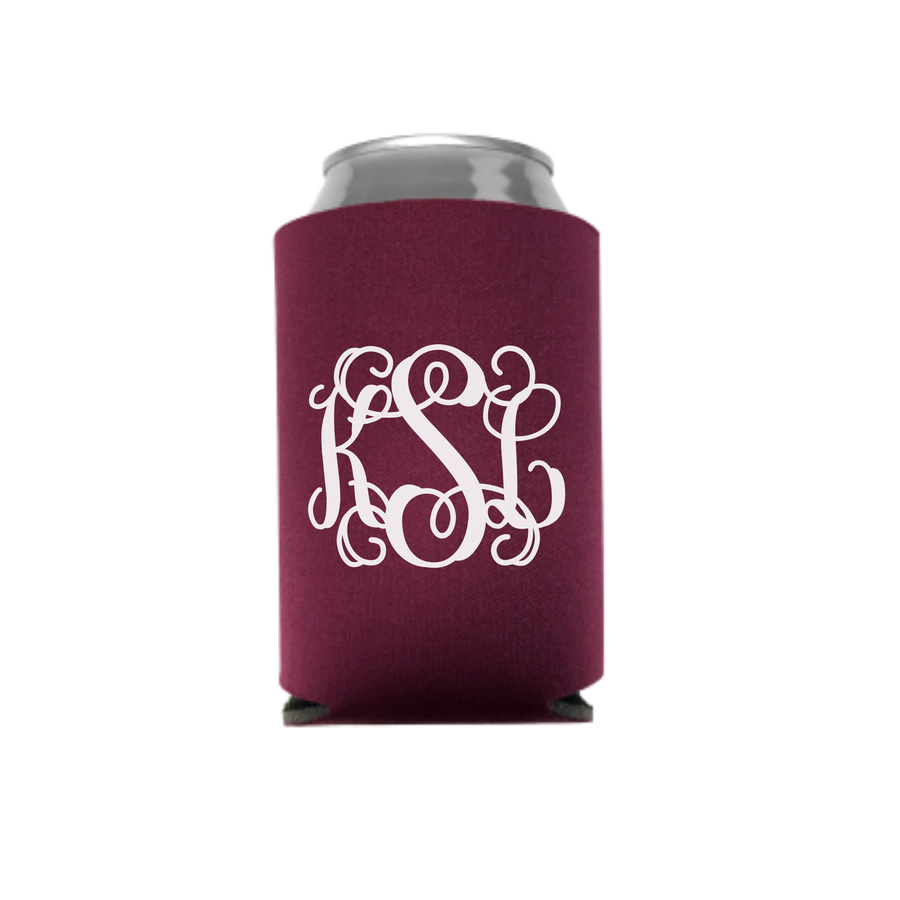 Monogram Can Insulator